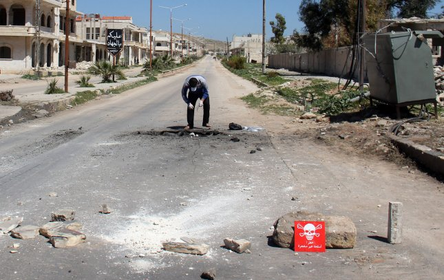 Russia vetoed an a United Nations Security Council resolution to extend an investigation into the use of chemical weapons during an attack in the Syrian town of Khan Sheikhoun. File Photo by Omar Haj Kadour/UPI