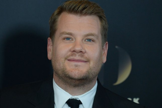 James Corden attends the 20th annual Hollywood Film Awards on November 6, 2016. Corden is to host the 2018 Grammy Awards in New York. File Photo by Jim Ruymen/UPI