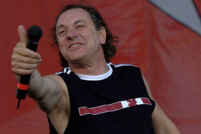 Brian Johnson has reunited with AC/DC after leaving the band in 2016. File Photo by Christine Chew/UPI