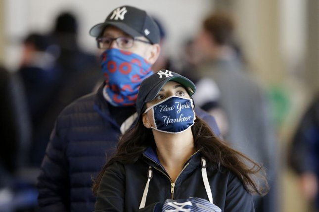 New York will adjust its mask guidelines for fully vaccinated people to match those released by the CDC last week on May 19.File Photo by John Angelillo/UPI