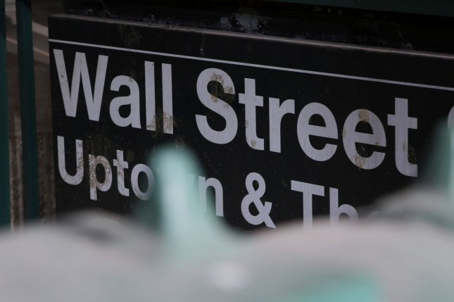 The Dow Jones fell 107 points on Tuesday as a Labor Department inflation report dragged down markets as second-quarter earnings began to roll in. File Photo by John Angelillo/UPI