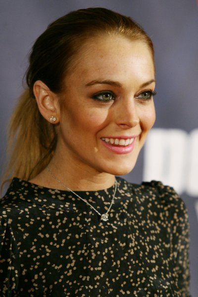 Lindsay Lohan arrives at the Declare Yourself Rebirth of Citizenship Inauguration Kick-off Event on January 18, 2009 at the Renaissance Washington Hotel in Washington, DC. (UPI Photo/Arianne Teeple)
