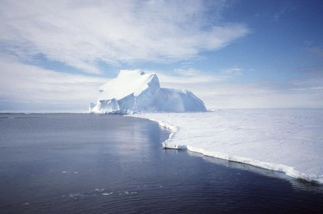 Shrinking antarctic sea ice at the end of the last ice age allowed for the release of large amounts of CO2. File photo by UPI Photo/NASA/GRACE team/DLR/Ben Holt Sr.