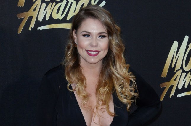 Kailyn Lowry attends the MTV Movie Awards on April 9, 2016. The reality star posted a picture of her third son Wednesday on Instagram. File Photo by Jim Ruymen/UPI