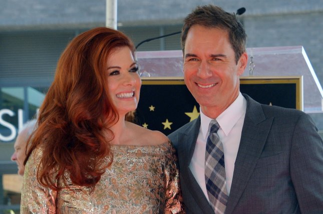 The revival of Debra Messing and Eric McCormack's sitcom Will & Grace has been renewed for a third season. File Photo by Jim Ruymen/UPI