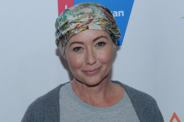 Shannen Doherty said she underwent tumor marker testing with her mother on social media. File Photo by Jim Ruymen/UPI