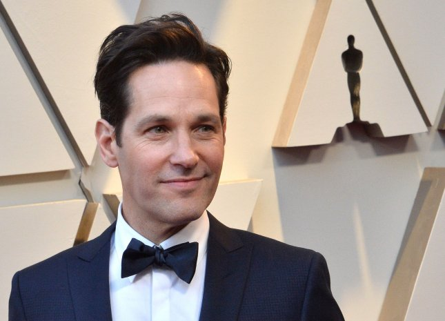 Paul Rudd has signed up to narrate Tiny World, a nature docu-series for Apple TV+. File Photo by Jim Ruymen/UPI
