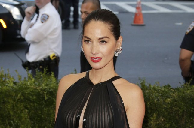 Olivia Munn at the Costume Institute Benefit at the Metropolitan Museum of Art on May 4, 2015. File Photo by John Angelillo/UPI