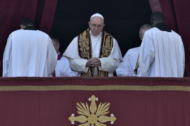 Pope Francis approved new measures that would allow the Catholic church to remove bishops who fail to fire or otherwise handle priests involved in sexual abuse cases. The pope said he hopes to establish a more precise definition of the grave reasons under which current canon law allows for the dismissal of a bishop. Photo by Stefano Spaziani/UPI