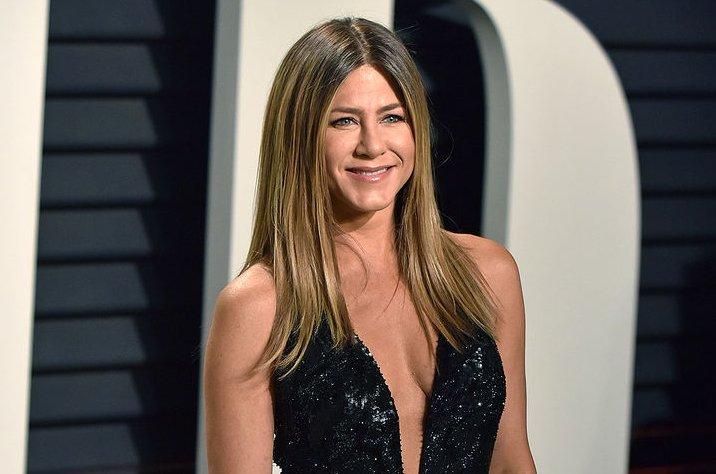 Jennifer Aniston attends the Vanity Fair Oscar party on February 26. File Photo by Christine Chew/UPI