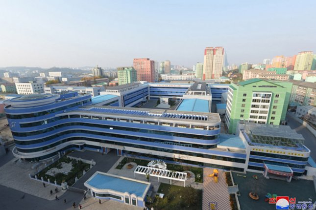 North Korea applied for subsidized vaccines from the World Health Organization's COVAX Facility this year. File Photo by KCNA/UPI