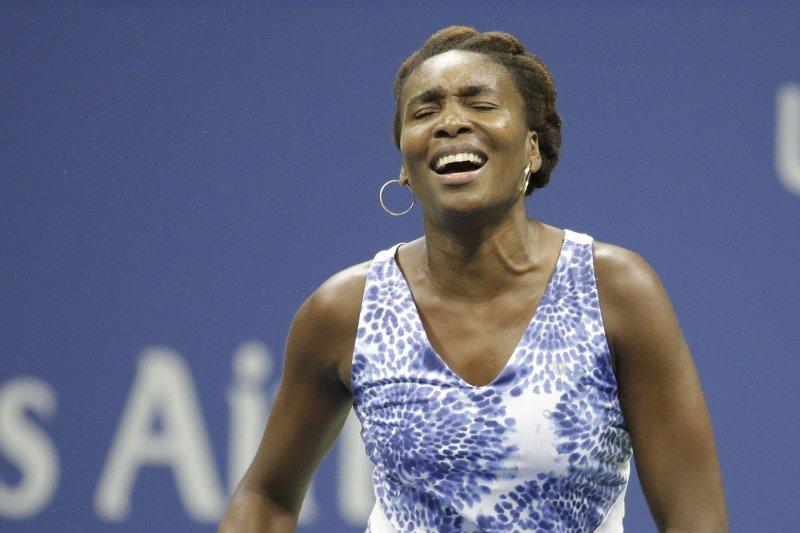 Venus Williams. Photo by John Angelillo/UPI