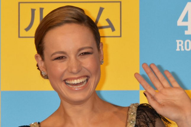 Brie Larson at the Tokyo premiere of Room on March 21. The actress got engaged to Alex Greenwald while in Japan. File Photo by Keizo Mori/UPI