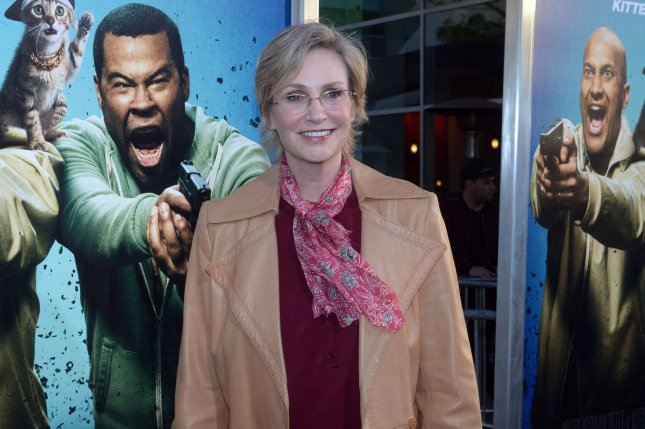 Jane Lynch attends the premiere of Keanu on April 27, 2016. Lynch is set to reappear on Criminal Minds this fall. FIle Photo by Jim Ruymen/UPI