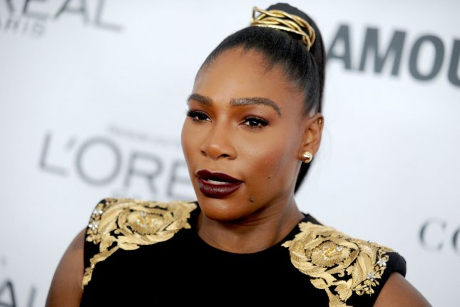 Serena Williams and daughter Alexis Olympia appear on the February cover of Vogue. File Photo by Dennis Van Tine/UPI