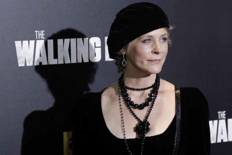 Season 9 of Melissa McBride's show The Walking Dead is to kick off Sunday. File Photo by John Angelillo/UPI
