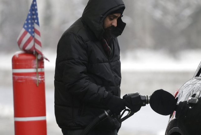 Gasoline prices rose as of March 4, compared to the previous week, as well as with the start of the year. Analysts say the gain during January and February is the highest since 2015. File Photo by John Angelillo/UPI