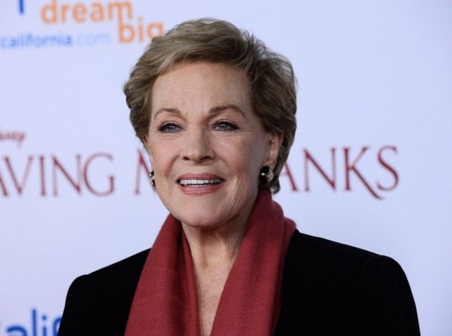 Actress Julie Andrews is to accept the AFI's top honor next spring. File Photo by Jim Ruymen/UPI