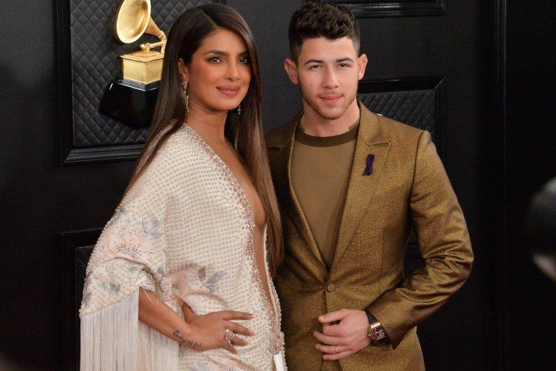 Priyanka Chopra Jonas (L) and Nick Jonas are to announce the names of Oscar nominees Monday. File Photo by Jim Ruymen/UPI