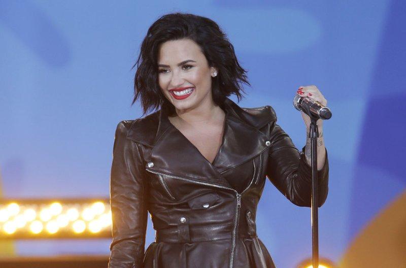 Demi Lovato performs on Good Morning America on June 17. File Photo by John Angelillo/UPI