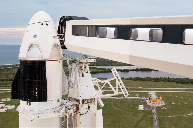 The SpaceX Crew Dragon spacecraft was launched Sunday from Kennedy Space Center in Florida. It aims to eventually carry astronauts into space, one of many developments driving resurgent job growth on Florida's Space Coast. Photo by Joel Kowsky/NASA