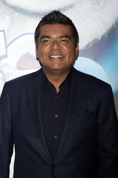George Lopez arrives for the The Smurfs in 3D Premiere at the Ziegfeld Theater in New York on July 24, 2011. UPI /Laura Cavanaugh