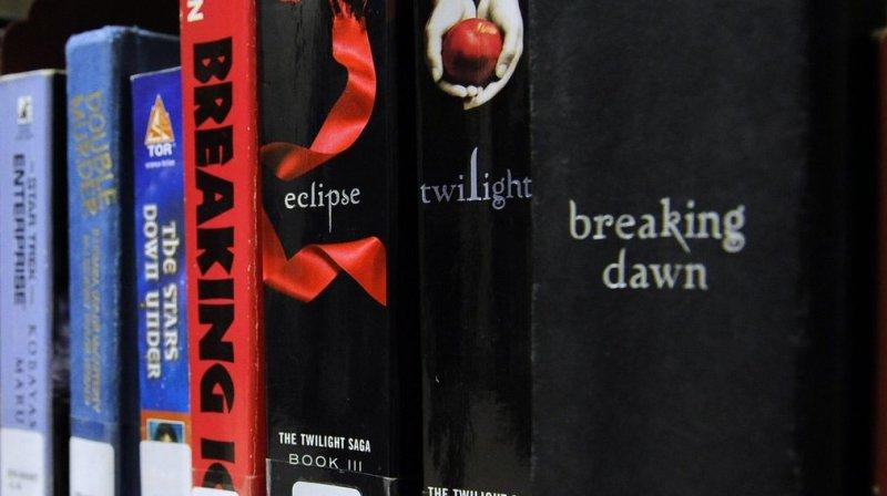 Lori Teel had not returned Stephenie Meyer's novel, Twilight, and a DVD copy of The Twilight Saga: New Moon despite an Oct. 5, 2010, due date. UPI/Roger L. Wollenberg