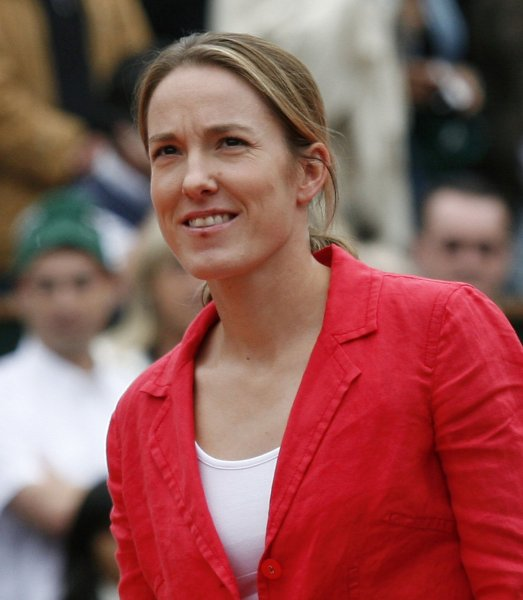 Justine Henin, shown in a file photo from 2008, improved to 2-0 in her comeback after a 19-month retirement from tennis. She was a straight-set winner in second-round play Wednesday at the Brisbane International in Australia. (UPI Photo/ David Silpa)