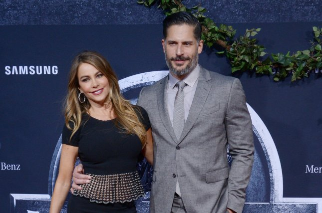 Sofia Vergara and Joe Manganiello, seen here at the premiere Jurassic World in Los Angeles on June 9, tied the knot on Sunday. File Photo by Jim Ruymen/UPI