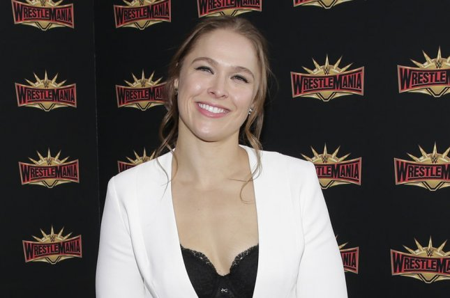 Raw Women's Champion Ronda Rousey. WWE has announced a Road to Evolution special that will explore the upcoming, all-women's event. File Photo by John Angelillo/UPI