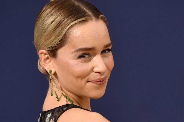 Emilia Clarke was spotted kissing Charlie McDowell on Sunday. File Photo by Christine Chew/UPI