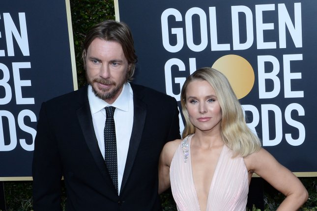 Dax Shepard and Kristen Bell have joined the voice cast of Ultra City Smiths. File Photo by Jim Ruymen/UPI
