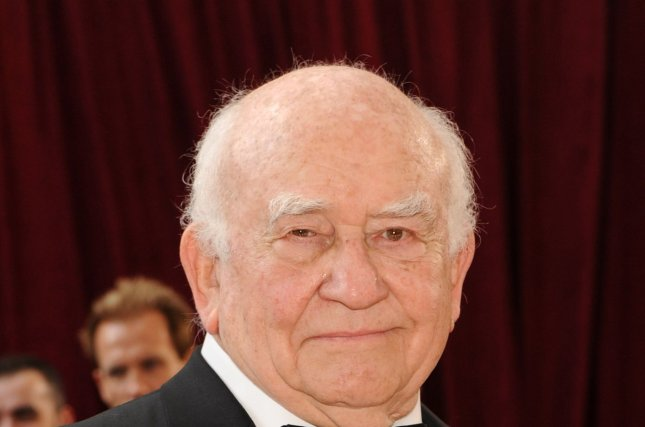 Ed Asner arrives at the 82nd annual Academy Awards in Hollywood in 2010. He died Sunday at the age of 91. File Photo by Jim Ruymen/UPI