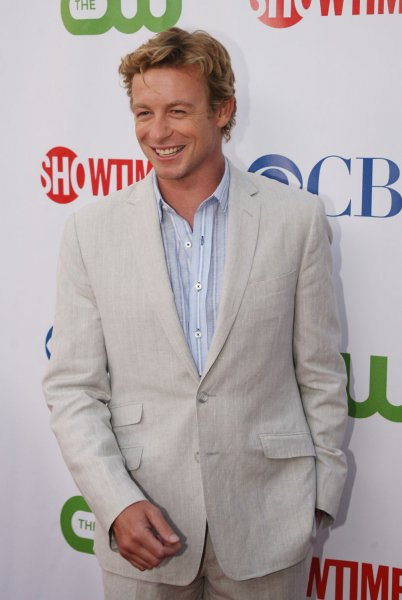 Actor Simon Baker attends the CBS, CW and Showtime press tour party in Los Angeles on July 18, 2008. (UPI Photo/Kevin Reece). .