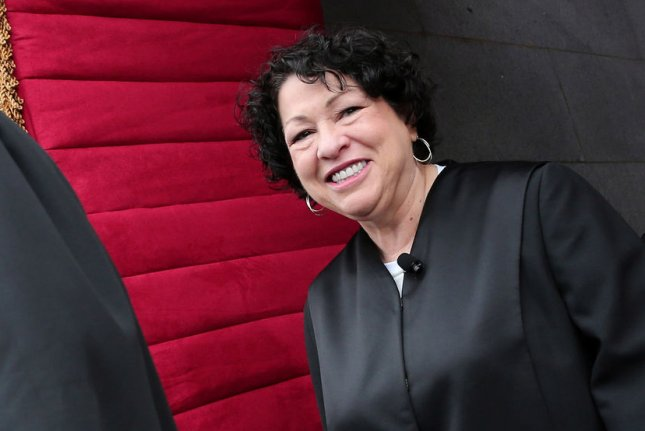 Supreme Court Justice Sonia Sotomayor. UPI/Win McNamee/POOL