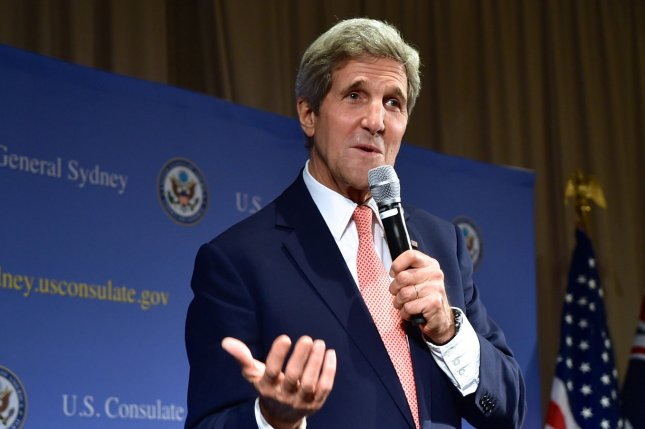 North Korea has criticized U.S. Secretary of State John Kerry for remarks he made regarding U.S. relations with North Korea during a recent trip to Asia in mid-August 2014. (UPI/U.S. State Department)