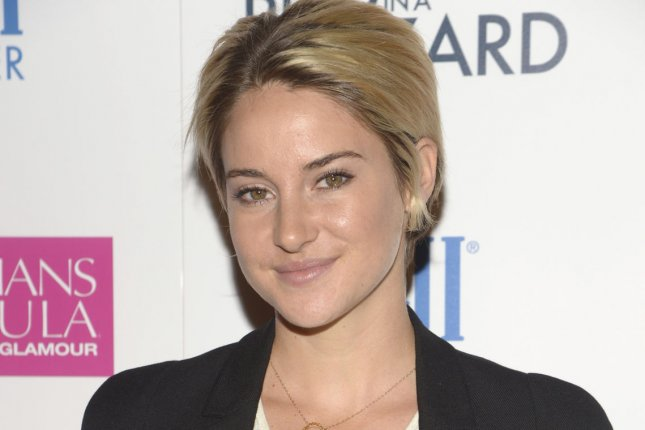 Shailene Woodley attends the premiere of the film White Bird in a Blizzard on October 21, 2014. UPI/Phil McCarten