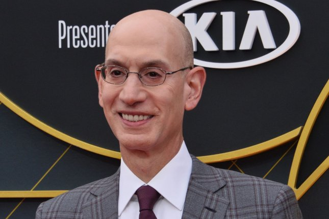 NBA commissioner Adam Silver said last month the league and players' union made a joint decision to start the 2020-21 season in December in teams' home cities. File Photo by Jim Ruymen/UPI