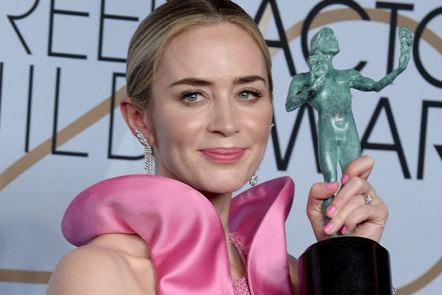 Emily Blunt's A Quiet Place Part II is now slated to open on Sept. 17. File Photo by Jim Ruymen/UPI.