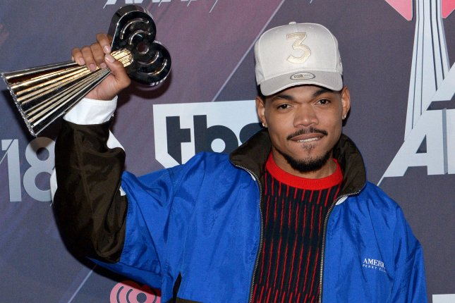 Chance the Rapper performed his new single The Heart & the Tongue on Good Morning America. File Photo by Jim Ruymen/UPI