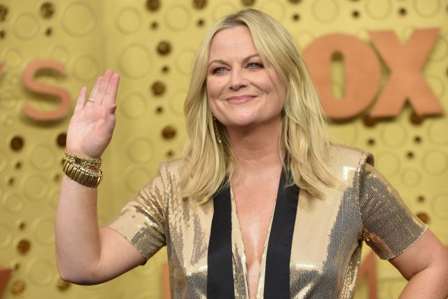Amy Poehler and Nick Offerman discussed Making It Season 3 and the possibility of more Parks and Recreation on Today. File Photo by Christine Chew/UPI