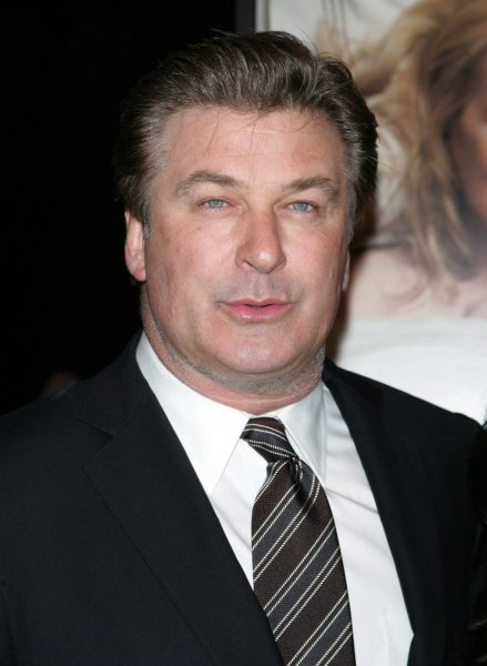 Alec Baldwin arrives for the premiere of It's Complicated at the Paris Theatre in New York on December 9, 2009. UPI /Laura Cavanaugh