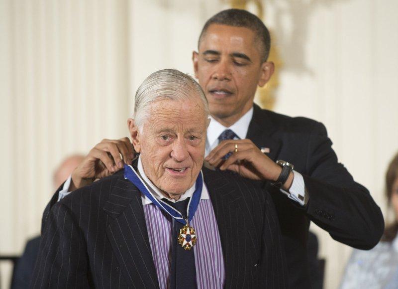 Ben Bradlee died October 21, 2014 at age 93. (UPI/Kevin Dietsch)