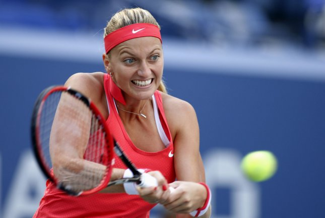 Petra Kvitova of the Czech Republic. Photo by Monika Graff/UPI