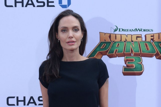 Cast member Angelina Jolie-Pitt attends the premiere of the animated motion-picture comedy Kung Fu Panda 3 in Los Angeles on January 16, 2016. File Photo by Jim Ruymen/UPI