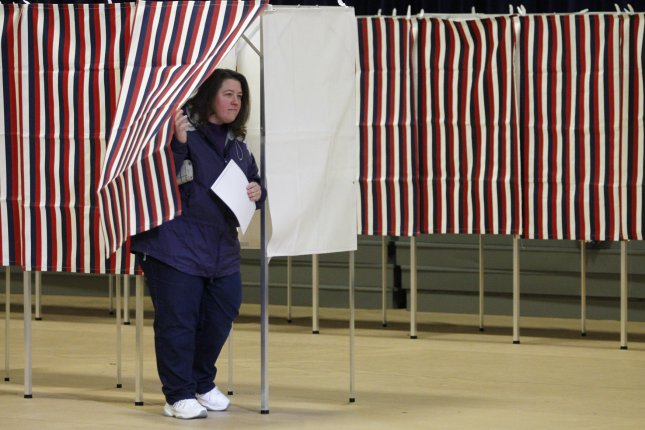 More than 118,000 names were left off voter lists due to a printing error Tuesday, officials said. File Photo by Matthew Healey/UPI