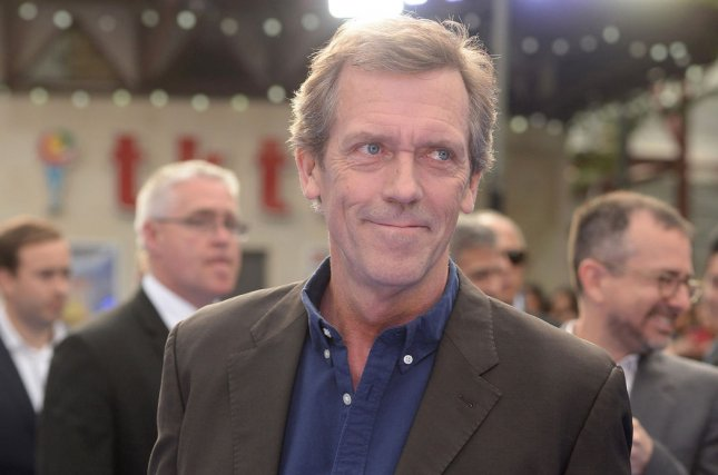 Hugh Laurie will receive the Outstanding Achievement Award at the Edinburgh International Television Festival. File Photo by Paul Treadway/UPI