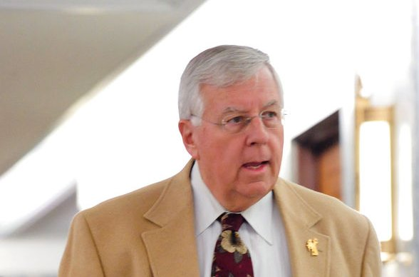 Retired Wyoming Sen. Mike Enzi, who died on Monday following a bicycle accident last week, left Congress in December, stating that serving his constituents was an honor of a lifetime. File Photo by Alexis C. Glenn/UPI