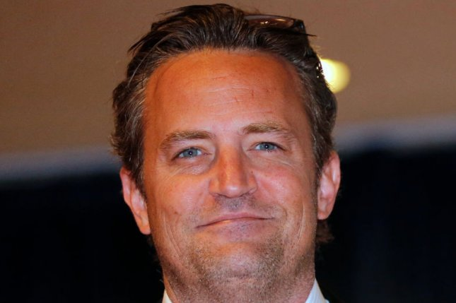 Matthew Perry starred as Chandler Bing on 10 seasons of 'Friends.' Photo by Molly Riley/UPI