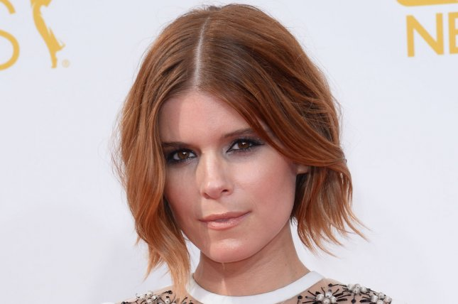 Actress Kate Mara arrives at the Primetime Emmy Awards at the Nokia Theatre in Los Angeles on Aug. 25, 2014. Photo by Jim Ruymen/UPI